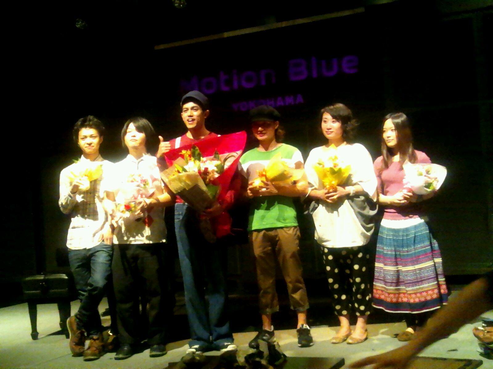 10/19「佐藤嘉風ワンマンライブ@ Motion Blue YOKOHAMA♪」。