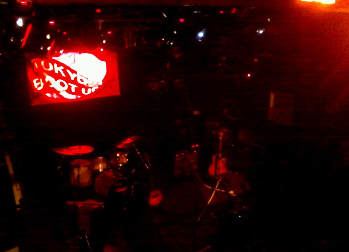 10/25「TOKYO SICKS LIVE at TOKYO BOOT UP」。