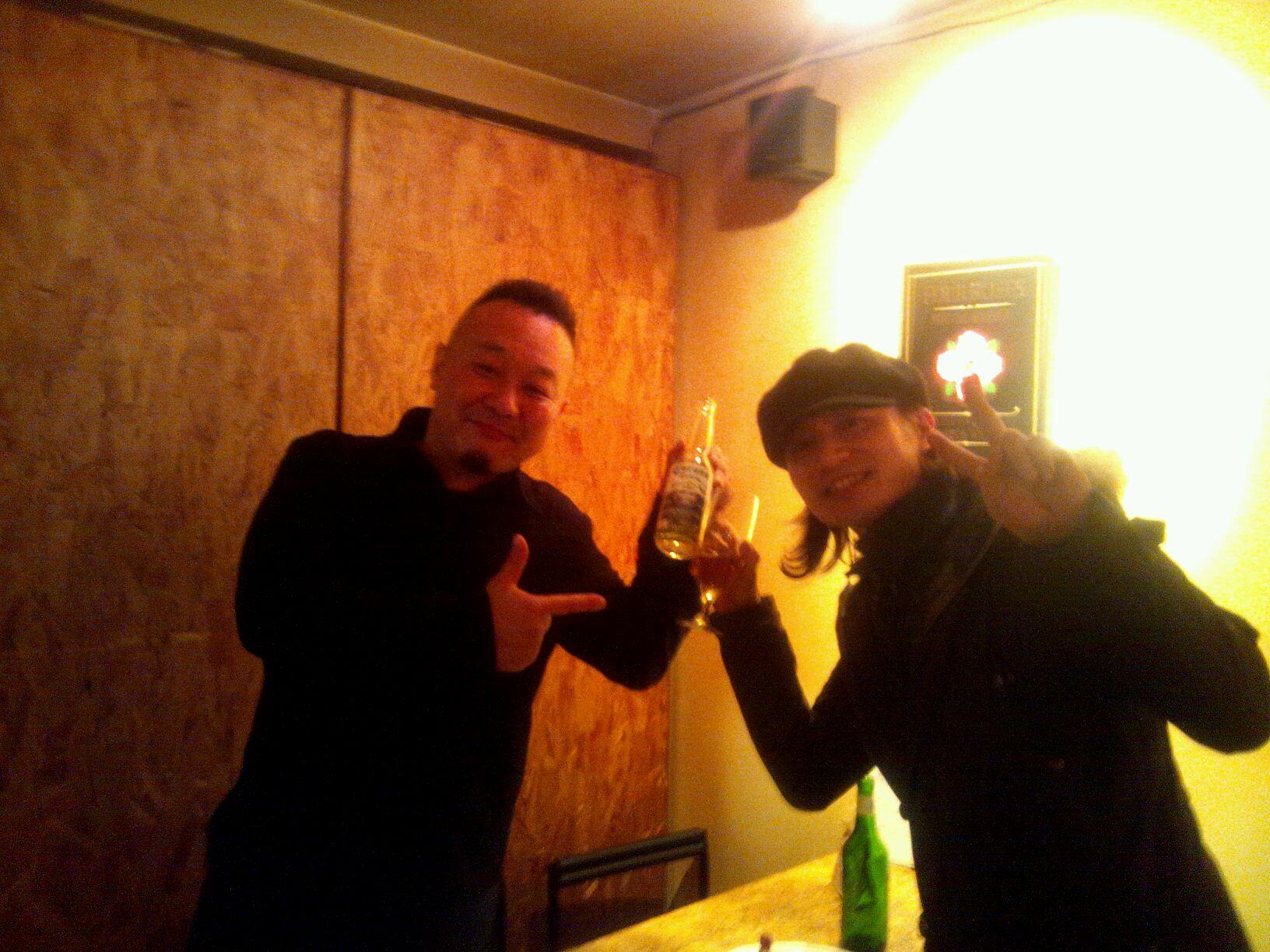 12/27「KOTEZ & YANCYにゲスト参加☆」。